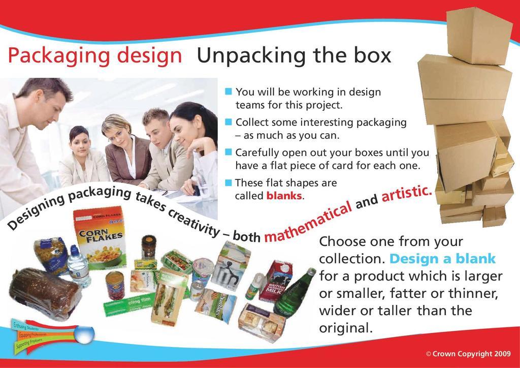 Packaging Design Stem