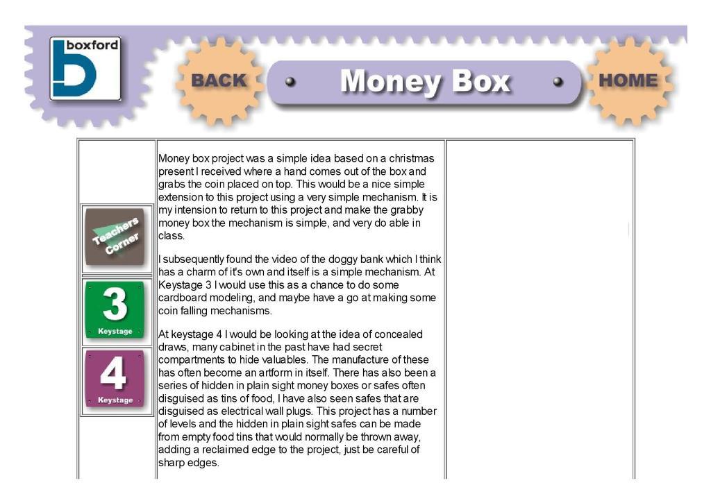 Round Money Box Stem