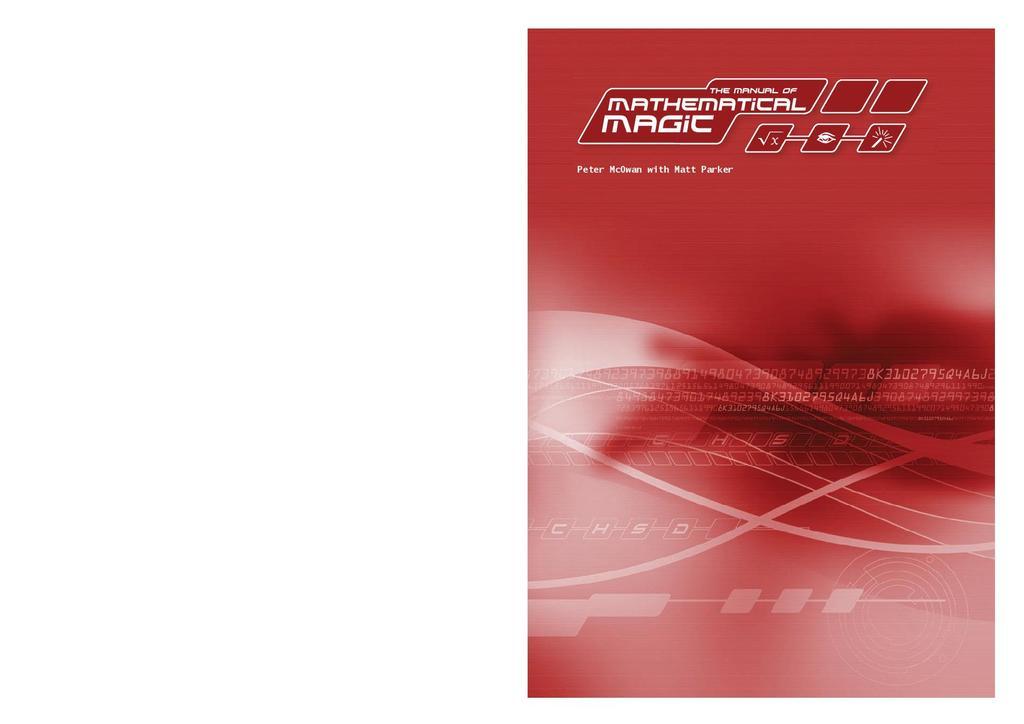 Manual of mathematical magic | STEM