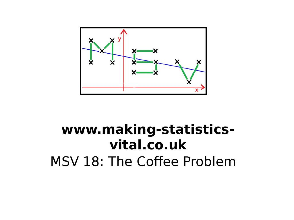 The Normal Distribution: the Coffee Problem | STEM