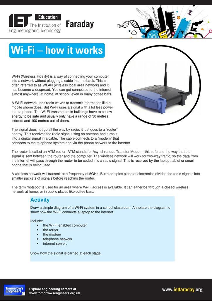 Wifi - How It Works | STEM