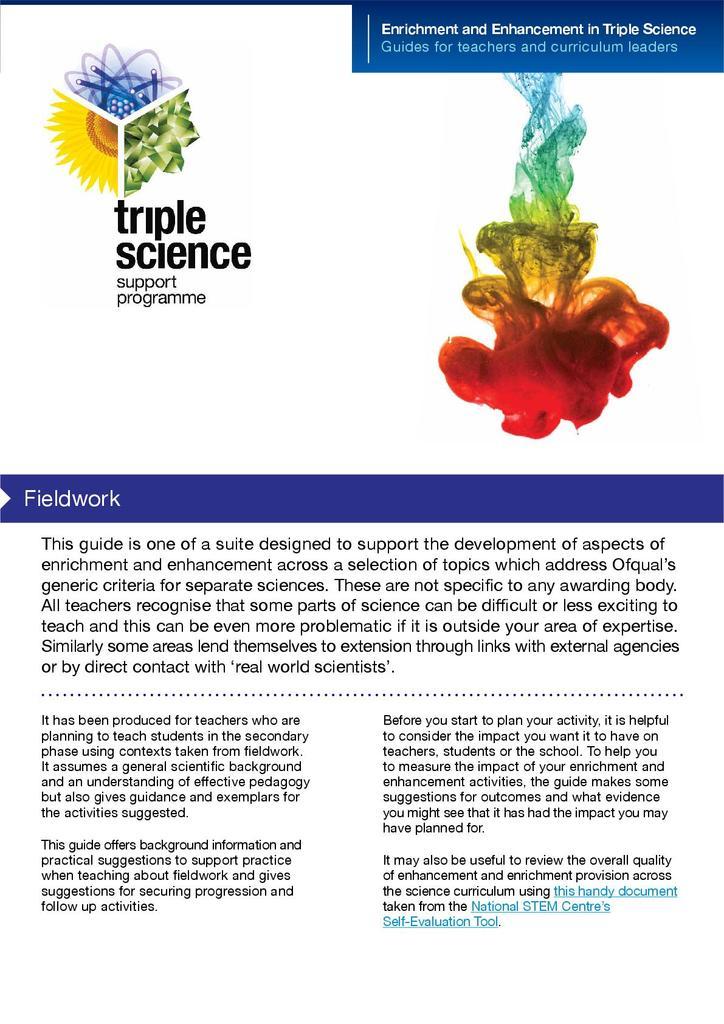 Fieldwork | STEM