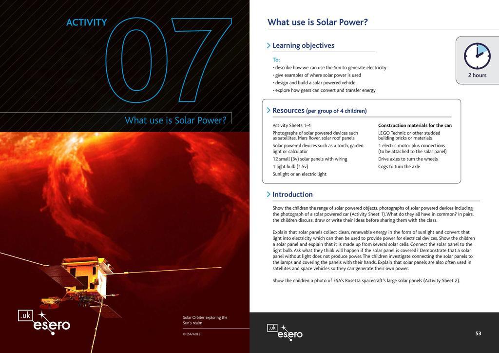 Rosetta - primary resource book | STEM