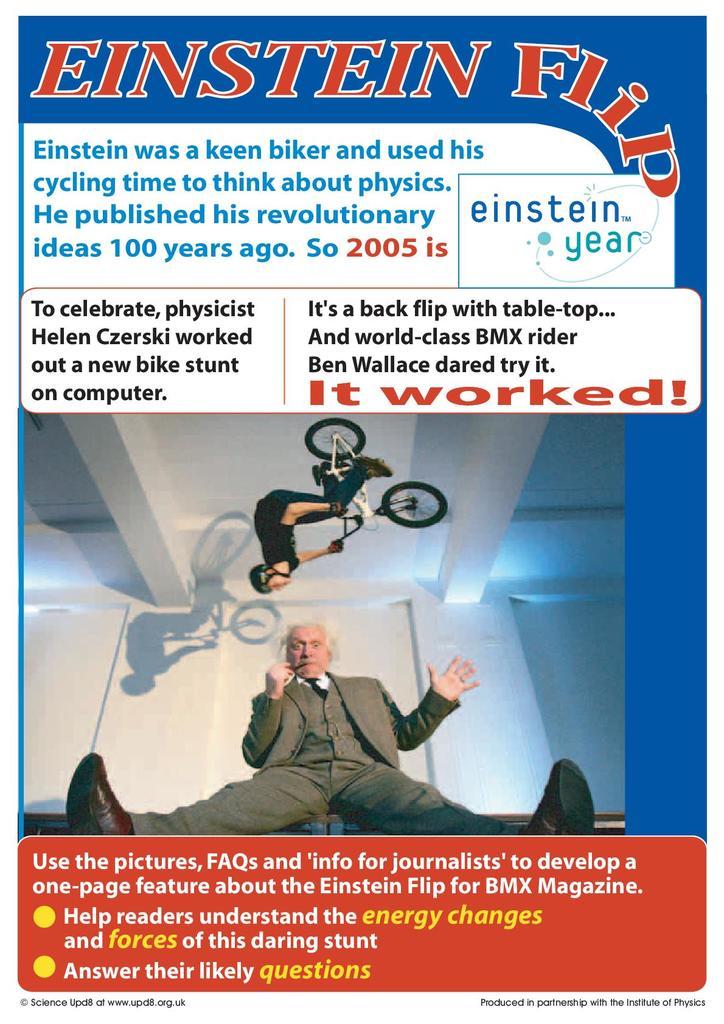 Einstein Flip | STEM