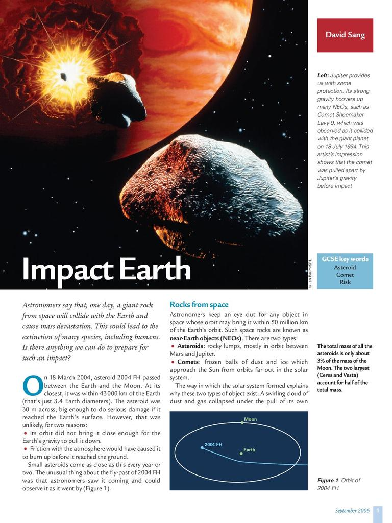 Impact Earth | STEM