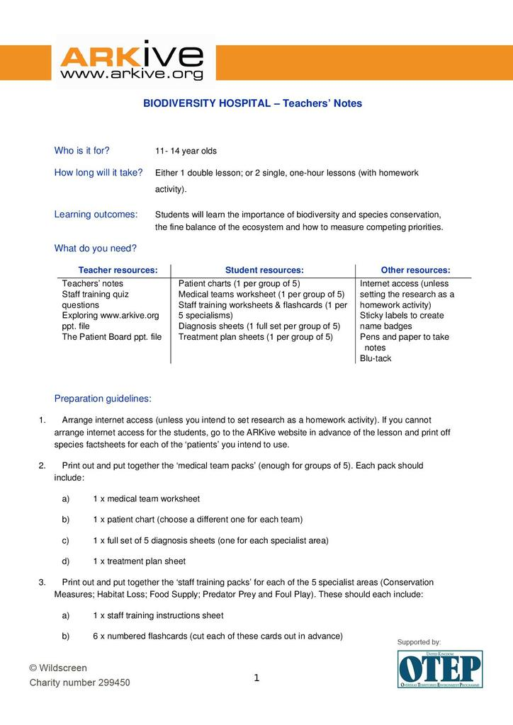6 3 Biodiversity Worksheet Answers - Escolagersonalvesgui