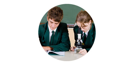 Secondary science lesson