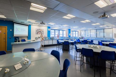 Science labs, National STEM Learning Centre, York