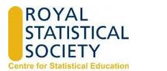Royal Statistical Society Centre for Statistical Education logo