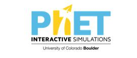 PhET Interactive Simulations University of Colorado Boulder logo
