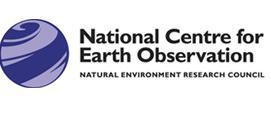 National Centre for Earth Observation logo