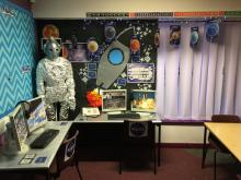 Space role-play/display